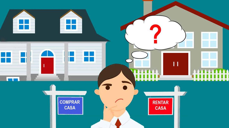 ¿Qué conviene, comprar o rentar?